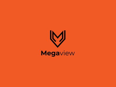 Megaview logo game logo