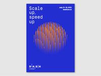 Dash Poster Series-Blue