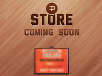 Patch's Store store patch goods poster frame sale wood emboss launch coming soon