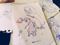 Illustration Pile