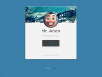 Profile (CSS3/HTML5)
