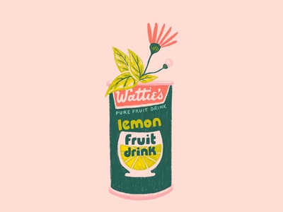 Wattie's Pure Fruit Drink & Flower