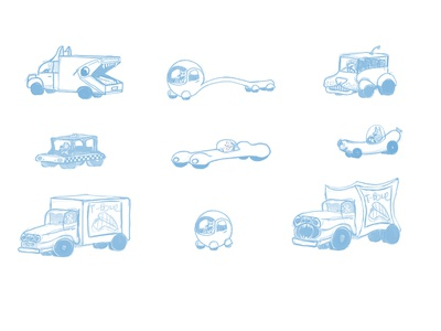 Vehicle Design for Dog City