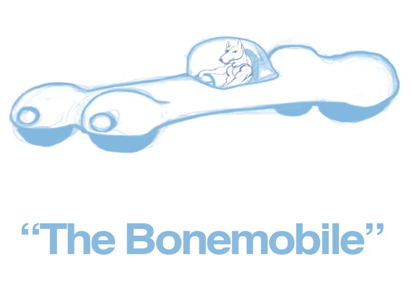 Thebonemobile
