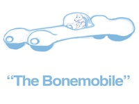 """The Bonemobile"" Concept Art"