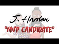 "J. Harden Cartoon ""MVP Candidate"""
