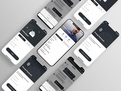 iOS MESSAGING APP ui app ios design ux