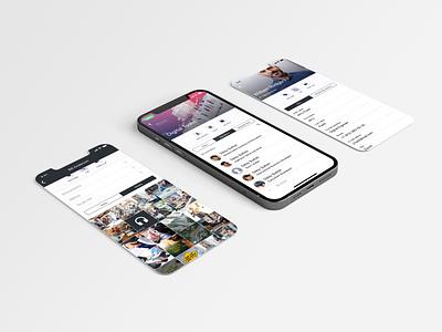 iOS MESSAGING APP ui mobile ui ux ios design app