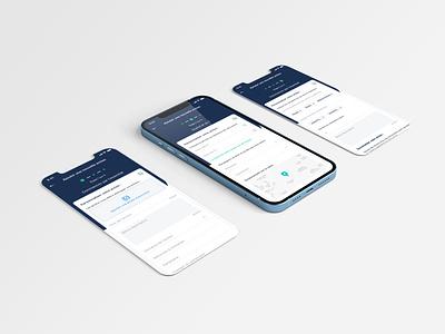 Mobile App ios mobile ui app design ux