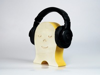 The Happy Headphone Holder