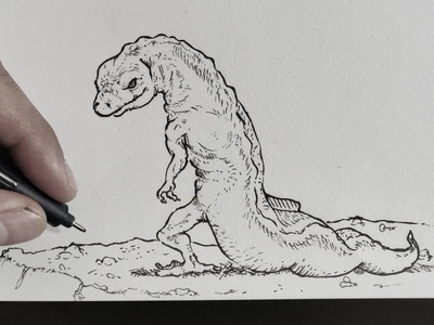 Bad Guy Salamander 🦎