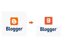 Blogger new logo