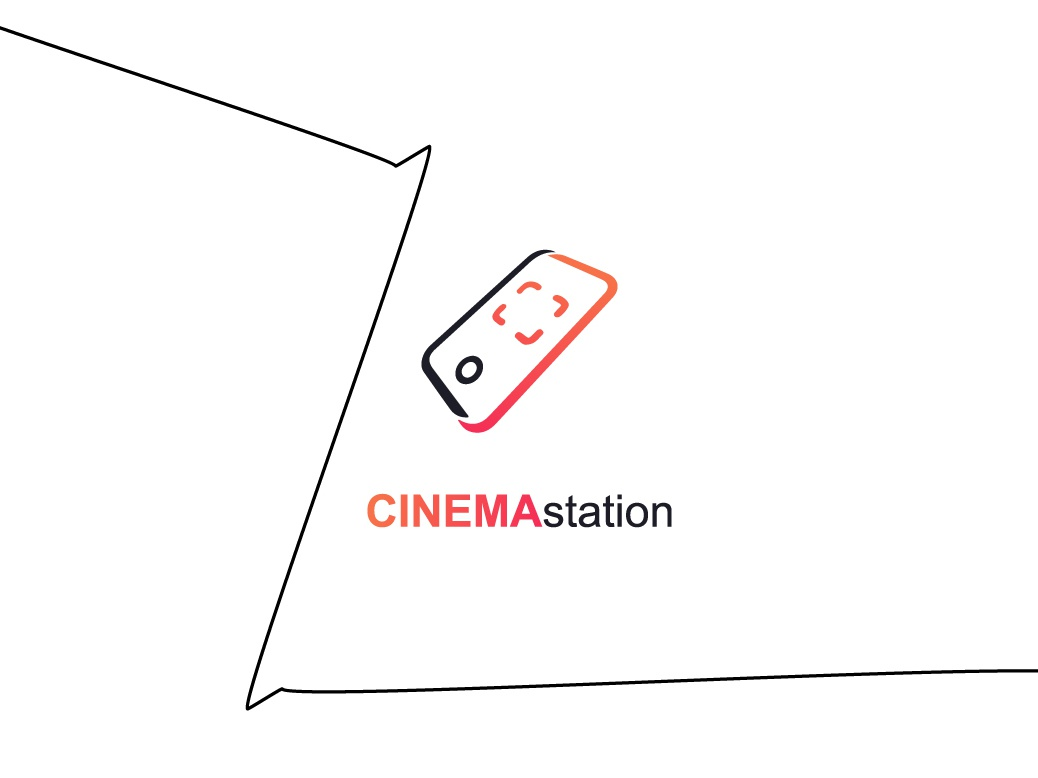 CINEMAstation | Logo ui ux illustration minimal type website flat app new branding vector typography arabic icons icon brand design creative logos logo