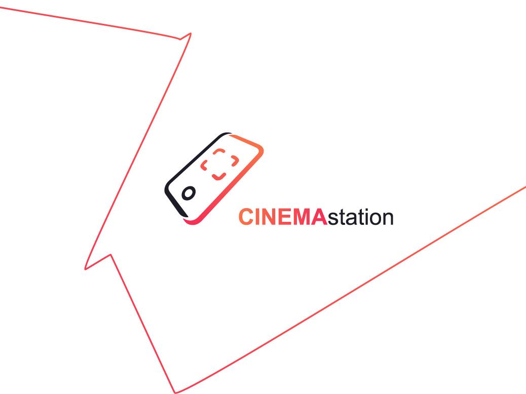 CINEMAstation   Logo app animation ux super illustration library new ball branding vector bragon typography arabic icons icon brand design creative logos logo