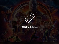 CINEMAstation | Logo