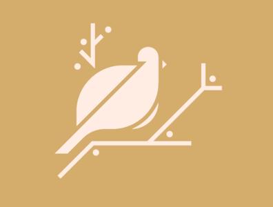 Bird Illustration - Sparrow