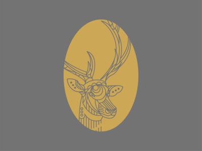 Animal Illustrations - Elk Concept 02