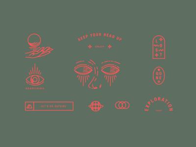 Concept Stickersheet