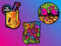 San Diego Stickers