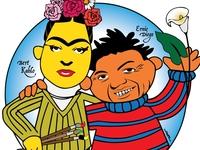 Bert Kahlo and Ernie Diego