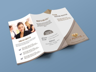 Trifold brochure design for Hsbd