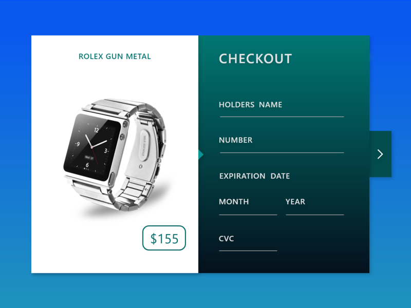E-Commerce Checkout Page shopping cart design rolex gun uiux template free ui resource ui vs ux mobile ui design cool ui ecommerce app wire frame payment screen design adobe xd project daily ui challenge free uiux mockup interface designer checkout design interface design uiux rolex watch e-commerce design checkout page