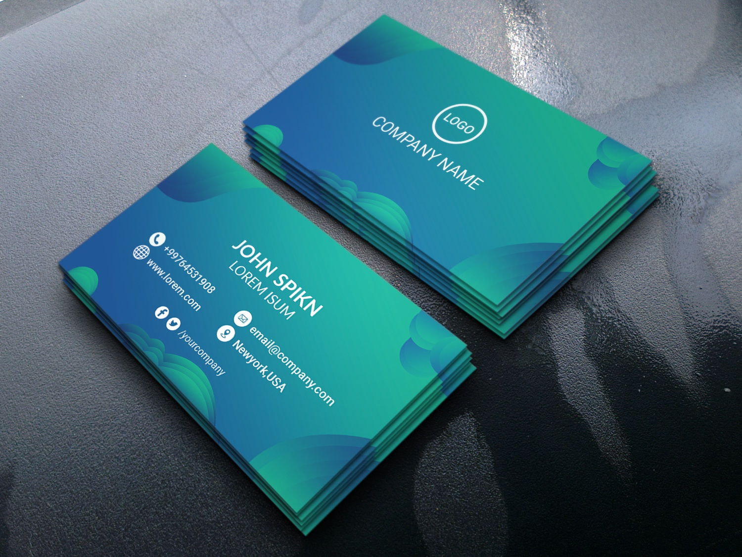 cool business card by subroto shan on dribbble