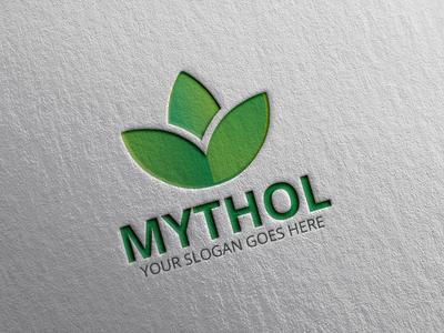 MYTHOL (Beauty Product Logo) cosmetic brand cosmetic logo modern  fashion logo clean spa logo beauty parlor logo green beauty logo spa logo beauty brand logo beauty logo myhthol mythological