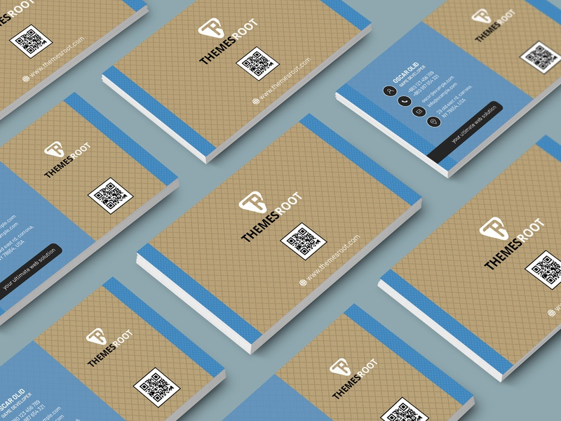Business card for Game Developer download minimal business card download multi-color card download multi color car elegant business card visual identity 2019 free corporate card stationary card top business card game developer card multi color card free gaming card gamer business card download gaming business card
