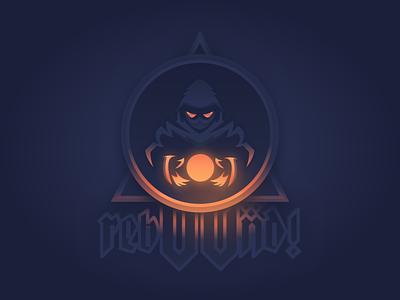 First Step Mascot Logo reaper magic occult art illustration figma esport logo mascot first