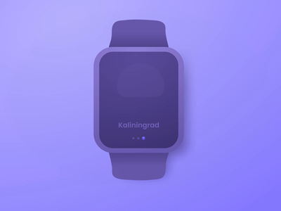 Apple Watch Ui Kit Weather vector app product design illustration video smart watch after effects dark theme weather icon figma uiux neomodeon ui kit design apple watch animation gif