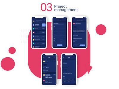 Work Timer Mobile App 03 timer uiux adobe xd ux designer app uidesign