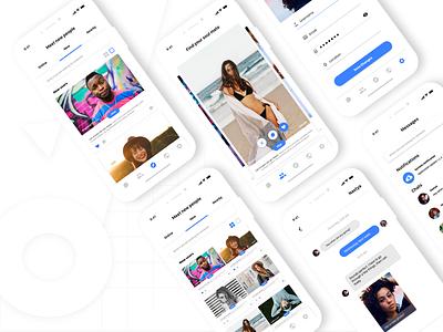 Dating Mobile App ios mobile app ui design uiux ux designer sketch uidesign dating app datingapp dating