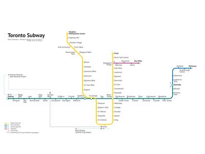 Toronto Subway — 2019 [Unofficial]