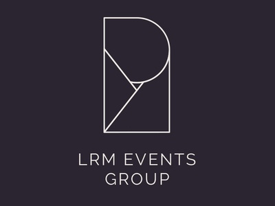 LRM Events Group Logo Concept By Studio Eighty Seven