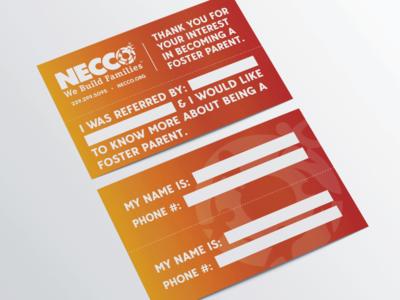 Necco Rip Card