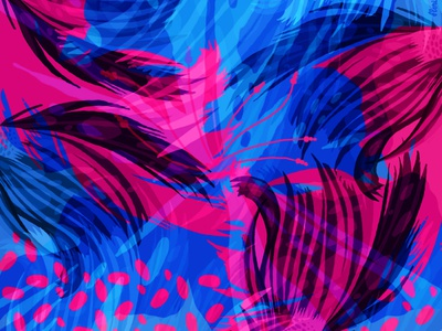 Ocean Essence silk transparency textile scarf design silk scarf fish water waves vibrant colors abstract art ocean
