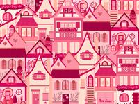 Pink Little Town