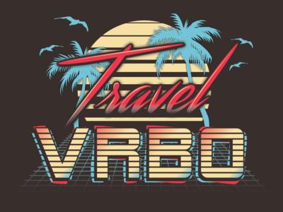 Vintage Inspired Shirt Graphic For VRBO.com