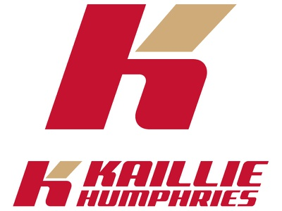Kaillie Humphries icon/logo kaillie humphries logo icon lockup vector red gold canada olympics bobsled