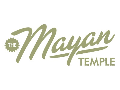The Mayan Temple vector type texture distressed ferocious