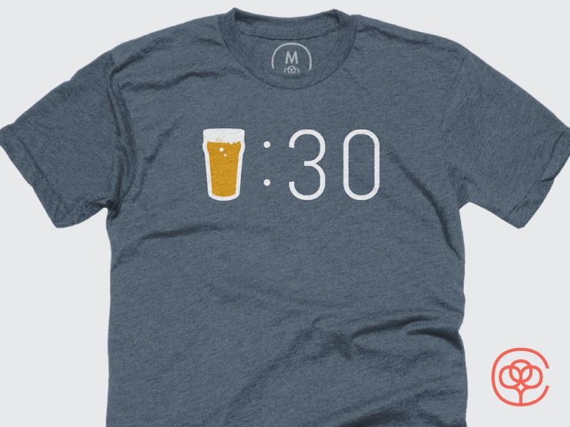 Brew Thirty shirts cottonbureau brew beer tshirts