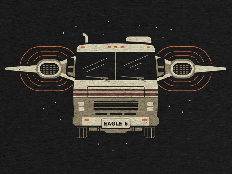 Eagle 5 movies graphic design 80s movies classic movies 80s spaceballs t-shirt