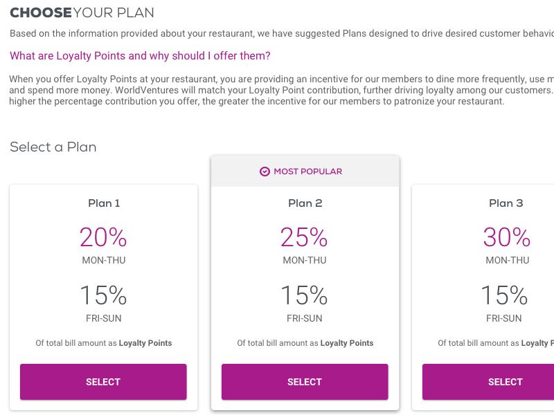 Plan Comparison ux architecture ux design plan comparison mobile web
