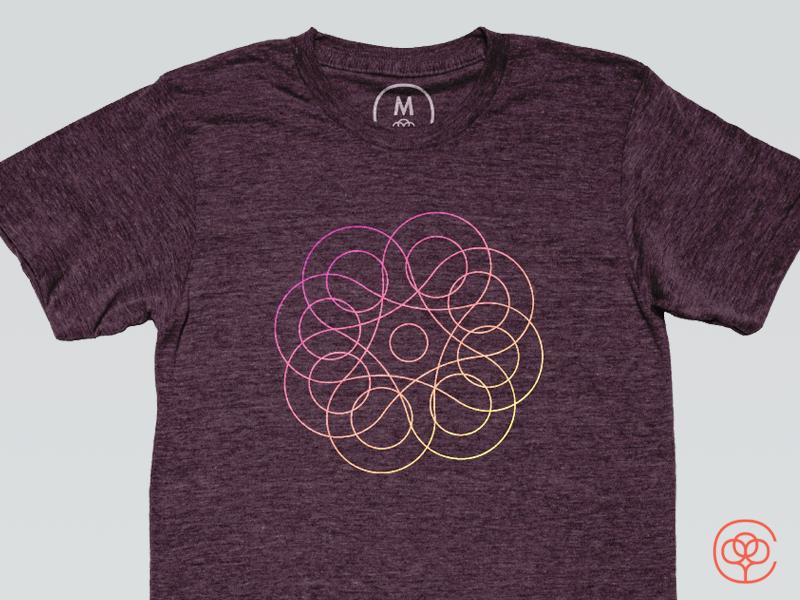 Spin Cotton Bureau Tee graphic design fidget spinner design shirt t-shirt