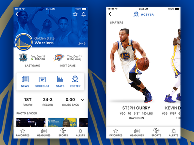 Sports App Concept