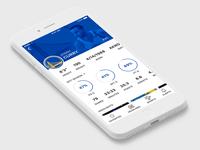Sports App - Player Profile
