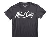 Mad city   100  cotton   women   tee   heavy metal