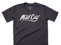 Mad city   100  cotton   men   tee   heavy metal