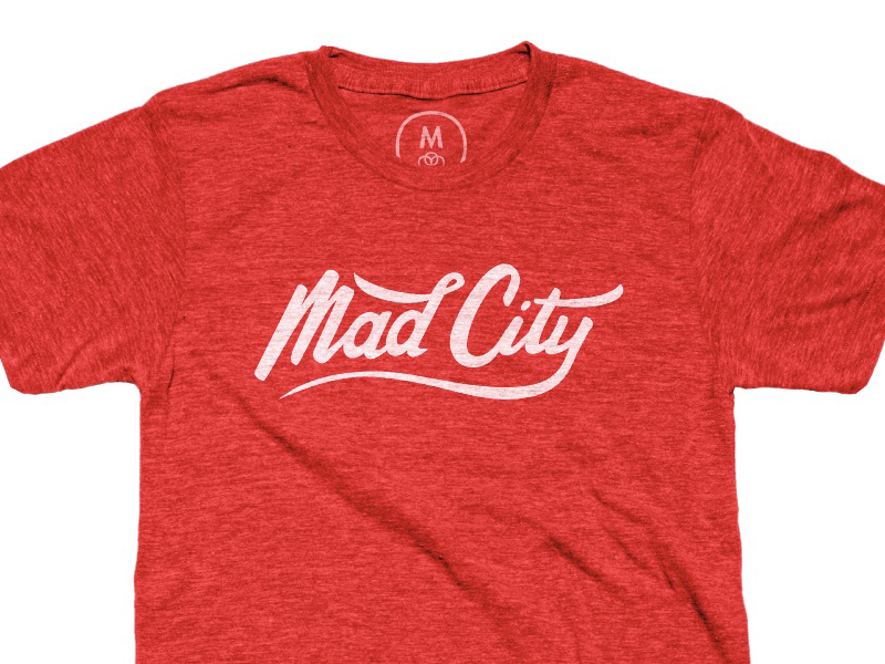 Mad City Tee graphic design design tshirt design fashion badgers uw madison tshirst wisconsin